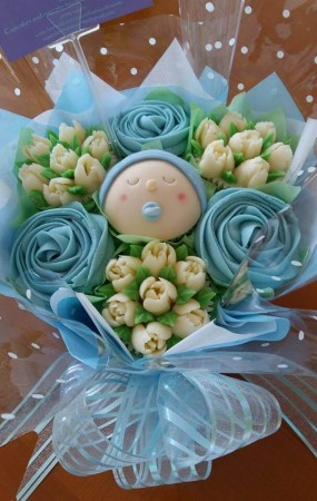 Baby Shower Bouquet - Boy
