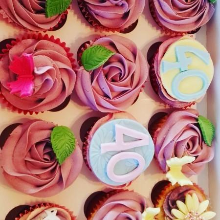 birthday cupcake variety box