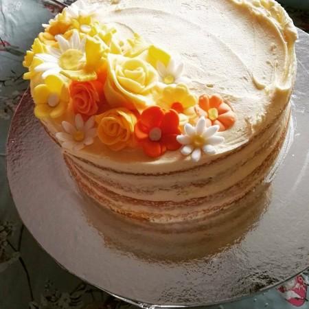 Lemon sandwich cake