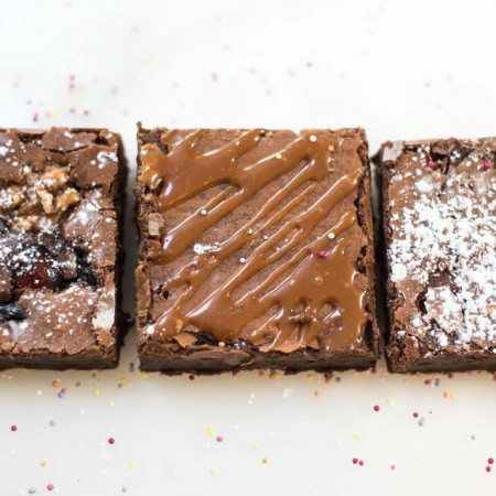 Traditional Brownies (Gluten Free)- tray of 15