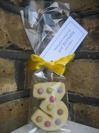 Shortbread Party Gift Bags