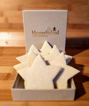 Shortbread Gift Box - Stars (Box of 4 or 10)