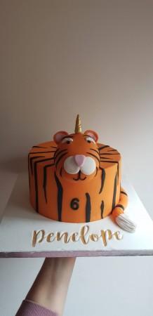 Animal Head Cake
