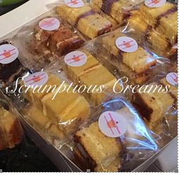 Prepackaged Cake Slices