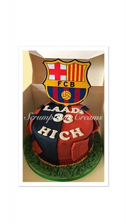 Bespoke Barcelona Cake- similar to pictures supplied