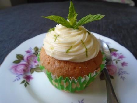 Gluten Free Mojito Cupcake