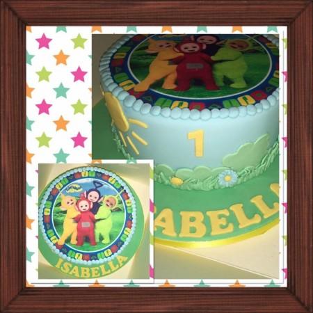 Character celebration cake