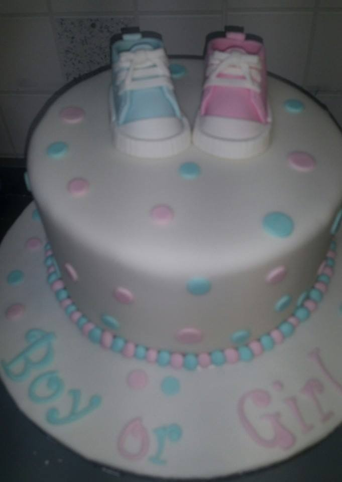 Chocolate Baby shower cake