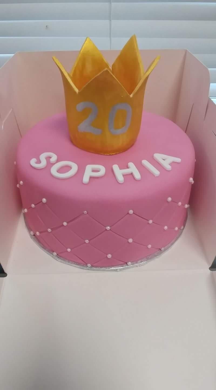 Celebration Sponge Cake