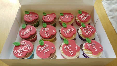 Any Flavour Celebration Cupcakes