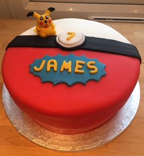 Pokemon Cake / Character Cakes