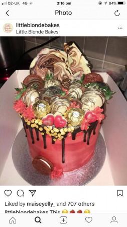 Sparkles Cakes Oldham Birthday Delivered Manchester Wedding