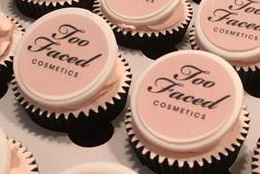 Corporate Cupcakes-on icing Discs