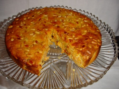 Venetian Carrot Cake (gluten & dairy free)