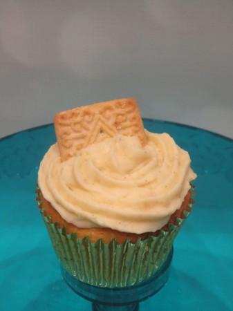 Custard Cream Cupcakes
