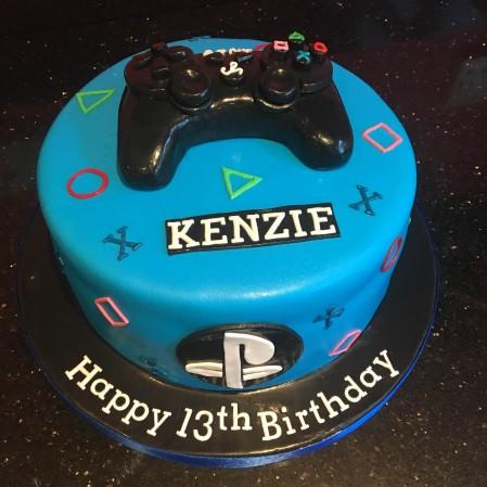 PlayStation game cake