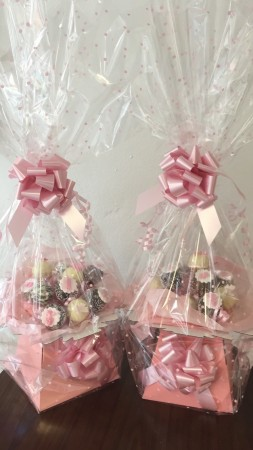 10 individually wrapped cake pops