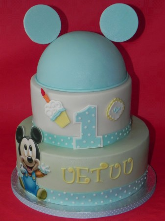 For Boys Birthday- 2tier