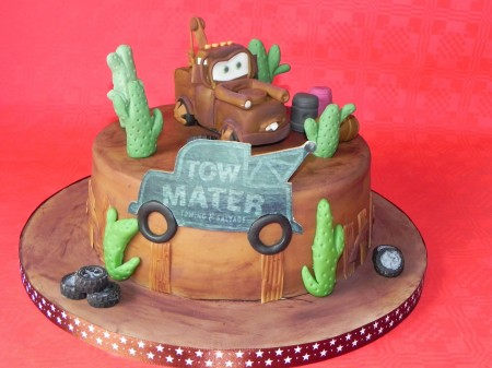 For Boys Birthday-Cars theme
