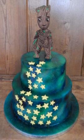 Baby Groot Cake