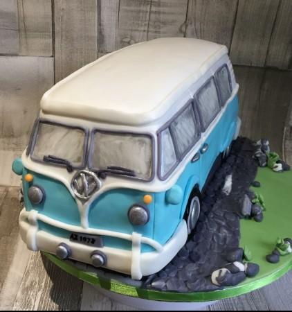 Carved Campervan Cake