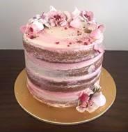 Gluten Free + Dairy Free naked layered cake