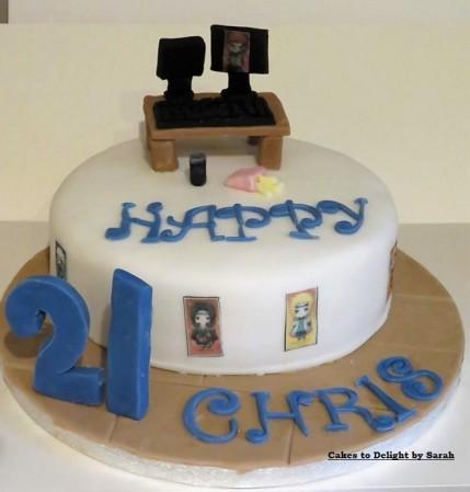 Gaming Birthday Cake Cakes To Delight By Sara