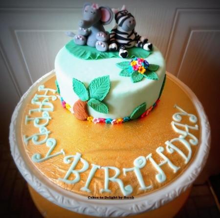 Animal Cake for kids
