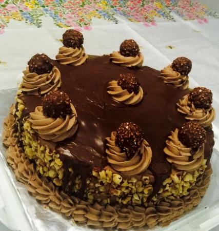 Rocher Ferrero Gateaux