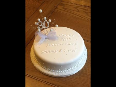 Dairy free Anniversary cake