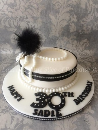 1920's Themed cake