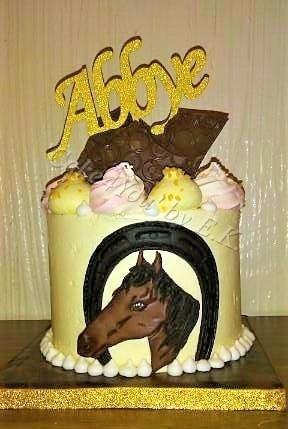 Remarkable Themed Little Birthday Cake Horse Theme Cake4You Birthday Cards Printable Giouspongecafe Filternl