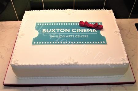 Company opening/celebration Cake with logo