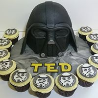 3D Star Wars theme Birthday Cake