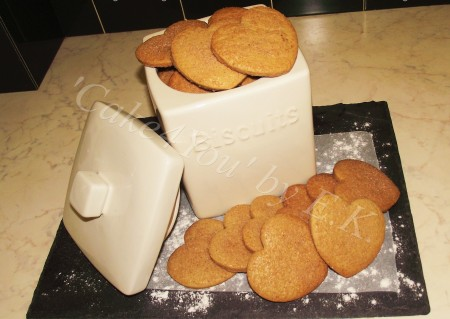 Butter Biscuits (range of flavours) 7cm