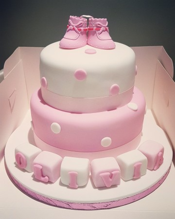 Baby Girl/Boy Christening/Baby shower/Birthday cake