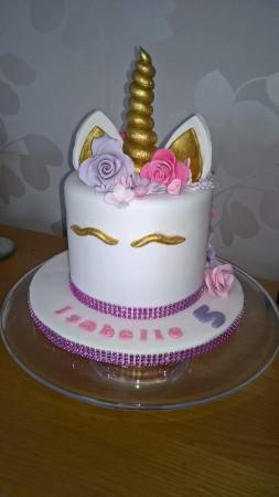 Unicorn Celebration Cake