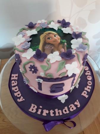 Celebration cake - printed image