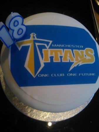 Logo cake - gluten-free