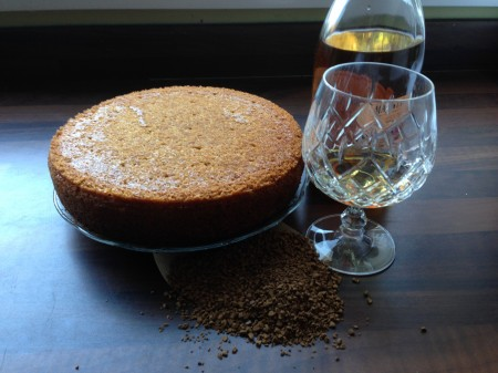 Coffee Brandy Cake