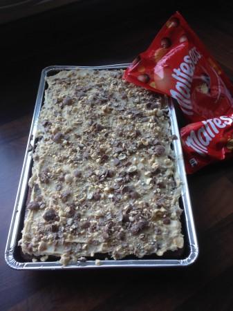 Malteser Tray Bake
