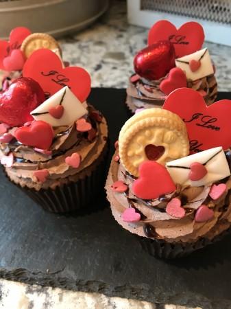 A Red Velvet Cupcakes