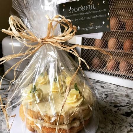 Citrus Buttercream Sponge Cake