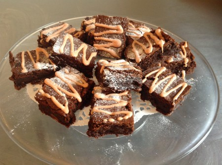 Chocolate & orange brownies