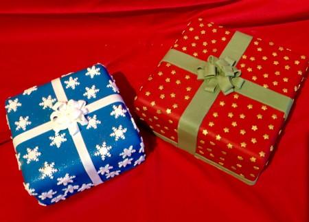Christmas Parcel Cakes