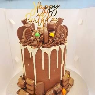 Drip cake -chocolate