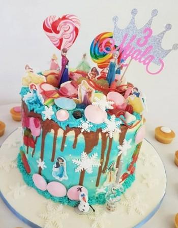 Bespoke Cbeebies Bing Cake- customer supplied picture