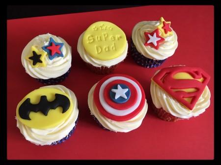 Cupcakes - Superhero
