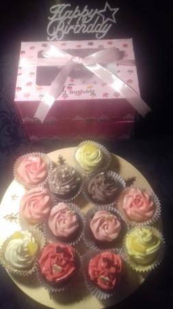 Gluten Free Cupcakes - Bespoke presentation Box
