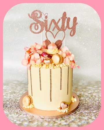 Vanilla Overload Birthday Cake